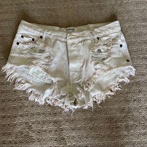 One Teaspoon Shorts - one teaspoon cutoff shorts